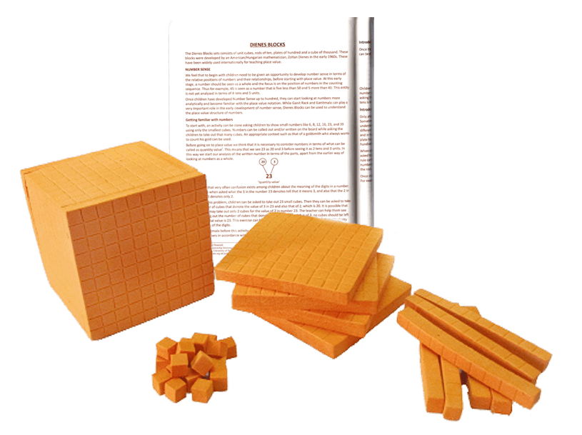 Dienes Blocks (Rubber)