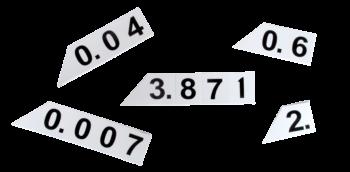 Decimal Maan Cards