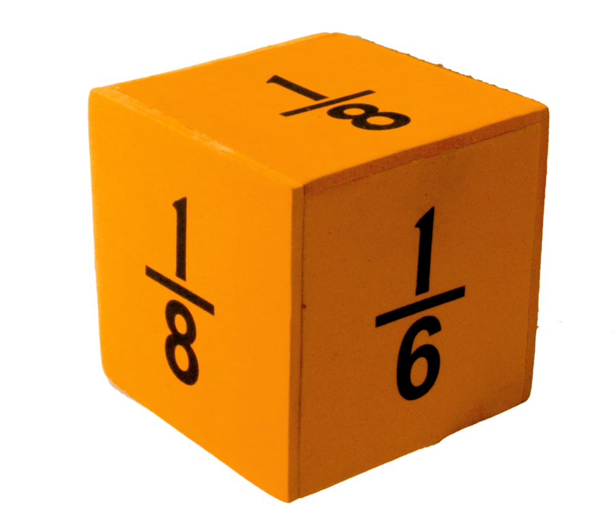 Fraction Dice (Large)