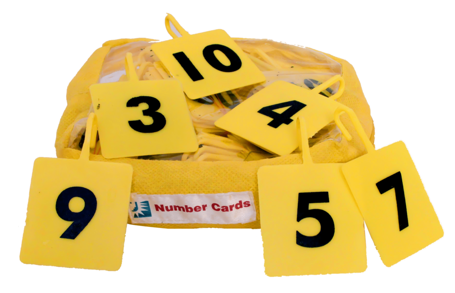 Number Card (101 cards)